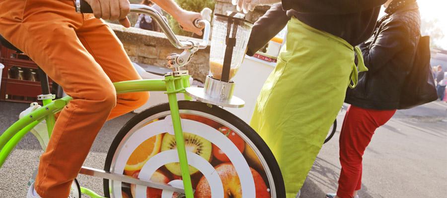 animation vélo smoothie